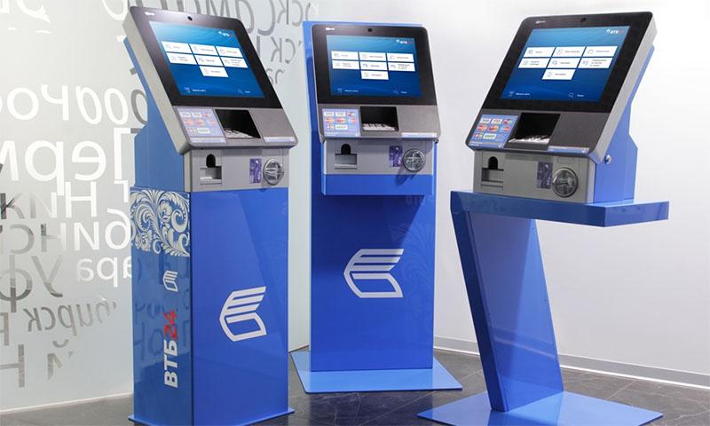 Посмотреть баланс карты можно в банкомате ВТБ 24