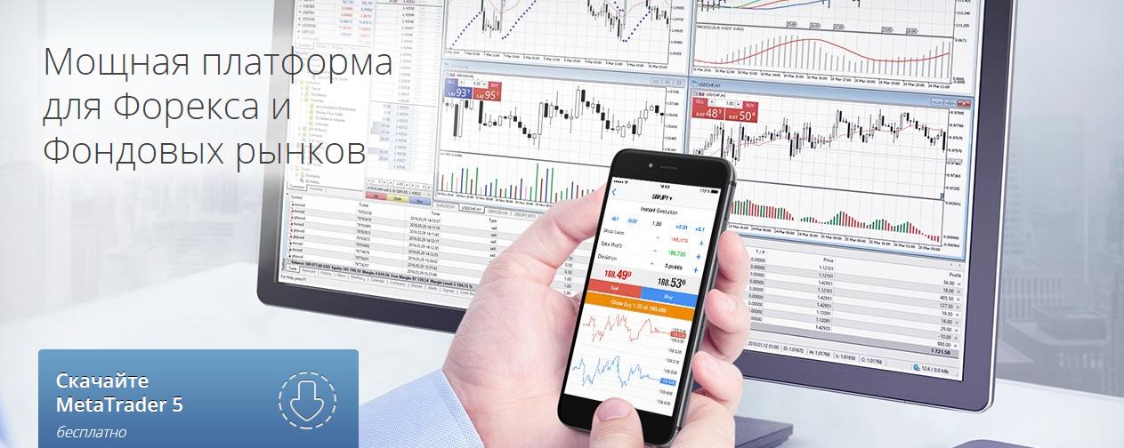 Мощная платформа для Форекса и Фондовых рынков