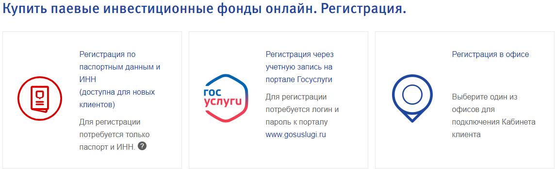 Зарегистрироваться в личном кабинете ВТБ ПИФ